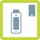 Batterijgevoed of externe stroomvoorziening